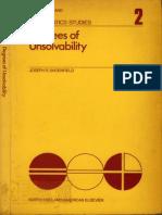 Degrees Of Unsolvability - Joseph Shoenfield