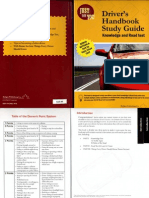 Drivers Handbook Study Guide