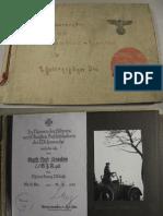 Dienstzeit 1938-1945 - Album Stöber 1. Gebirgsjäger Division