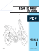 Part Catalog New Honda Revo FI