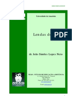Lendas do Sul - J. Simões Lopes Neto