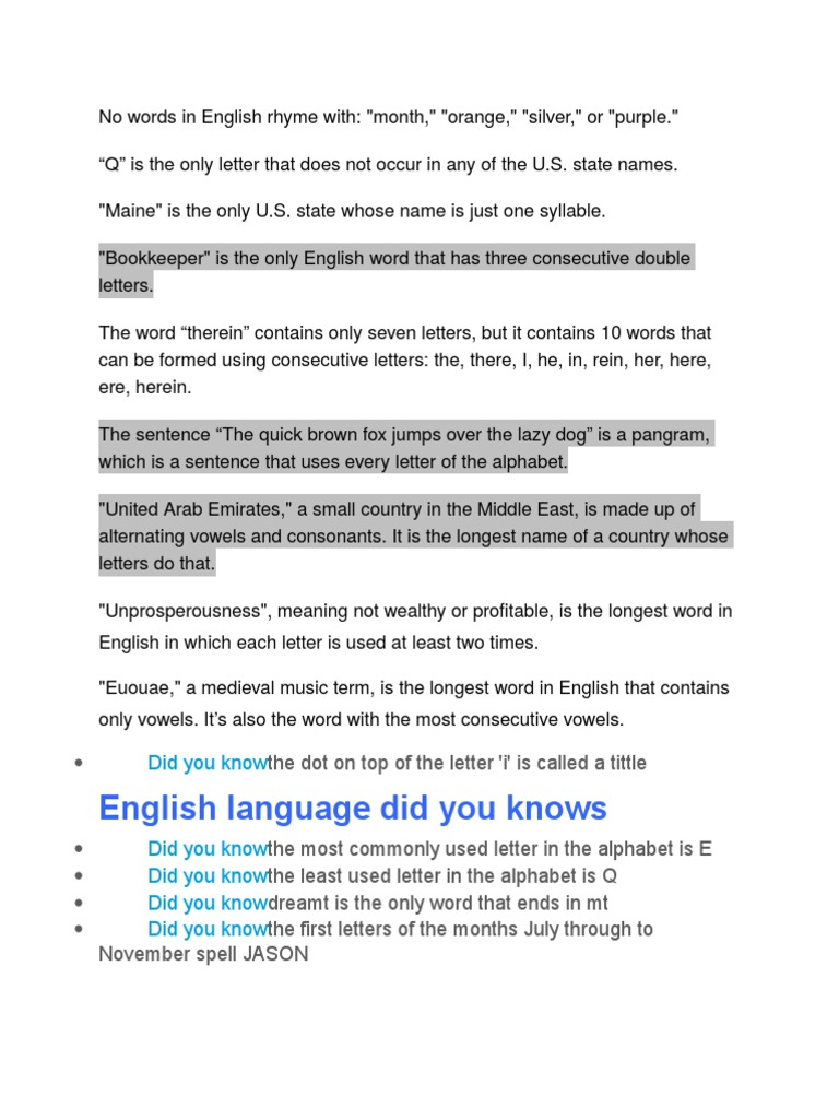 Dasd Alphabet English Language
