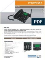 VISTION TEK PHONE 21g Brochure