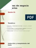 1era Sesión_Planes de Negocio Agrarios