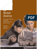 Teaching Reading is Rocket Science