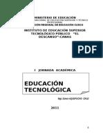 Educación y Formacion Tecnológica