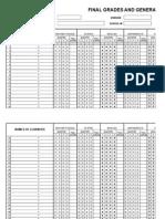 Grade 3_summary Final Grades