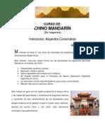 Chino Mandarin de Negocios