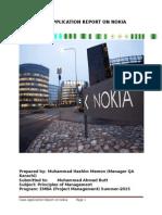 Nokia Case Application Report- Jul-15