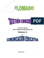 Modulo 6. Gestion Educativa