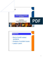Case Study on Accidents Involving Forklifts