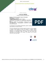 SABER PRO - Formulario de Registro a la prueba 2015
