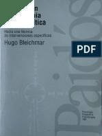 Avance Piscoterapia Psicoanalitica