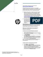 Activation Instructions ILO 030113