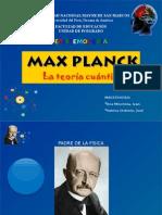 Max Planck y la teoría cuántica