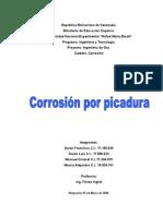 Corrosion Por Picadura (Grupo4)