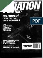 Aviation History Julio 1999 Artículo Escuadsrilla TBM Avengers perdia cerca Triángulo de Las Bermudas
