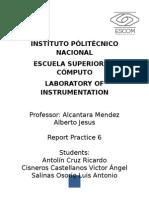 Arduino Practica 5 ESCOM