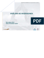 Módulo 12 - Análisis de Inversiones
