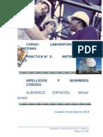 Laboratorio 2 Antenas - Antena Dipolo