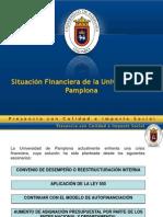 Situación Financiera de la Universidad de Pamplona