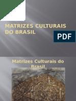 Matrizes Culturais Brasileira - Bom Modelo de Powerpoint - Ainda Que Textos Extensos