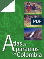 Atlas Paramos de colombia