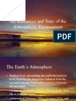 Air Resources and State of the Atmospheric Environment
