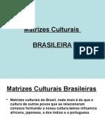 Matrizes Culturais Brasileira - Outro Bom Modelo de Powerpoint