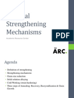 Strengthening Mechanisms