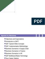 SAP Overview Workshop