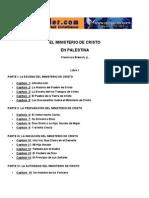 El Ministerio de Cristo en Palestina