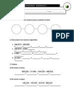 Evaluación Inicial Matemáticas 5º