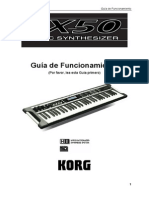 manual portugues korg x50
