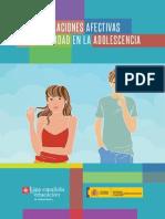 Relaciones Afectivas y Sexualidad en La Adolescencia