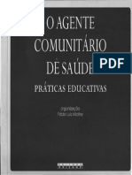 Livro o Agente Comunitário de Saúde - Práticas Educativas