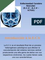 CLASE 3 - Enfermedad Cerebro Vascular (a.C.v)