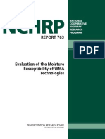 Nchrp_rpt_763_Evaluation of the Moisture Susceptibility of WMA Technologies