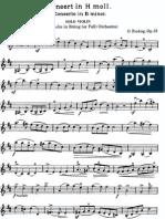 Rieding Concerto 2 Op 35 Violin