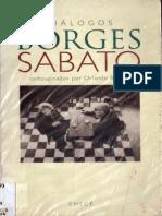 Barone, Compilador-Dialogos Borges, Sabato