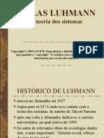 Luhmann e a Teoria de Sistemas