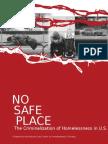 No Safe Place a Homeless Document