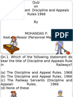 Quiz on DAR by APPM