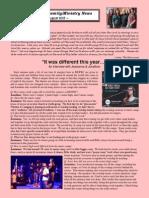 Marcum Family/Ministry Newsletter - August 2015