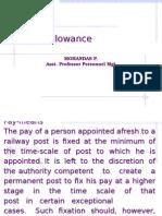 Allowances APPM