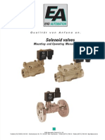 END ARMATUREN Solenoid valves Mounting and Operating Manual