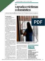 Provéen ayuda a víctimas de abuso doméstico