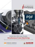 2014 SolidCAM Sim. 5-Axis-Milling User Guide