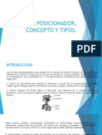 El Posicionador, Concepto y Tipos (Presentacion )