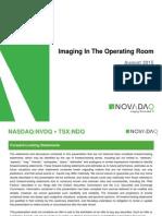 NVDQ Corporate Presentation August 2015